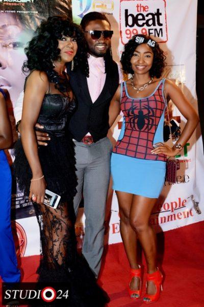 Susan Peters, Uti Nwachukwu & Belinda Effah