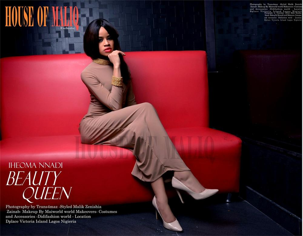 The Most Beautiful Girl In Nigeria Iheoma Nnadi Covers