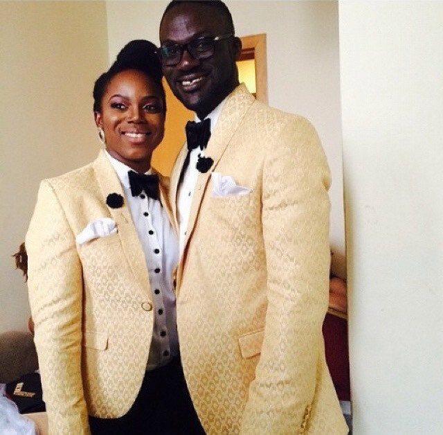Kehinde & his best lady Taiwo | Bunmi & Kehinde's Wedding Coming Soon to BNW!