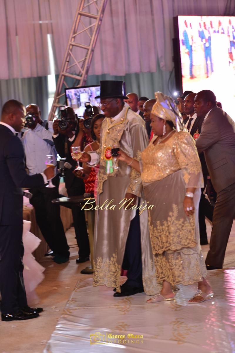 Ine & Simeon | President Jonathan Family Wedding | January 2015 | BellaNaija .George Okoro-1015