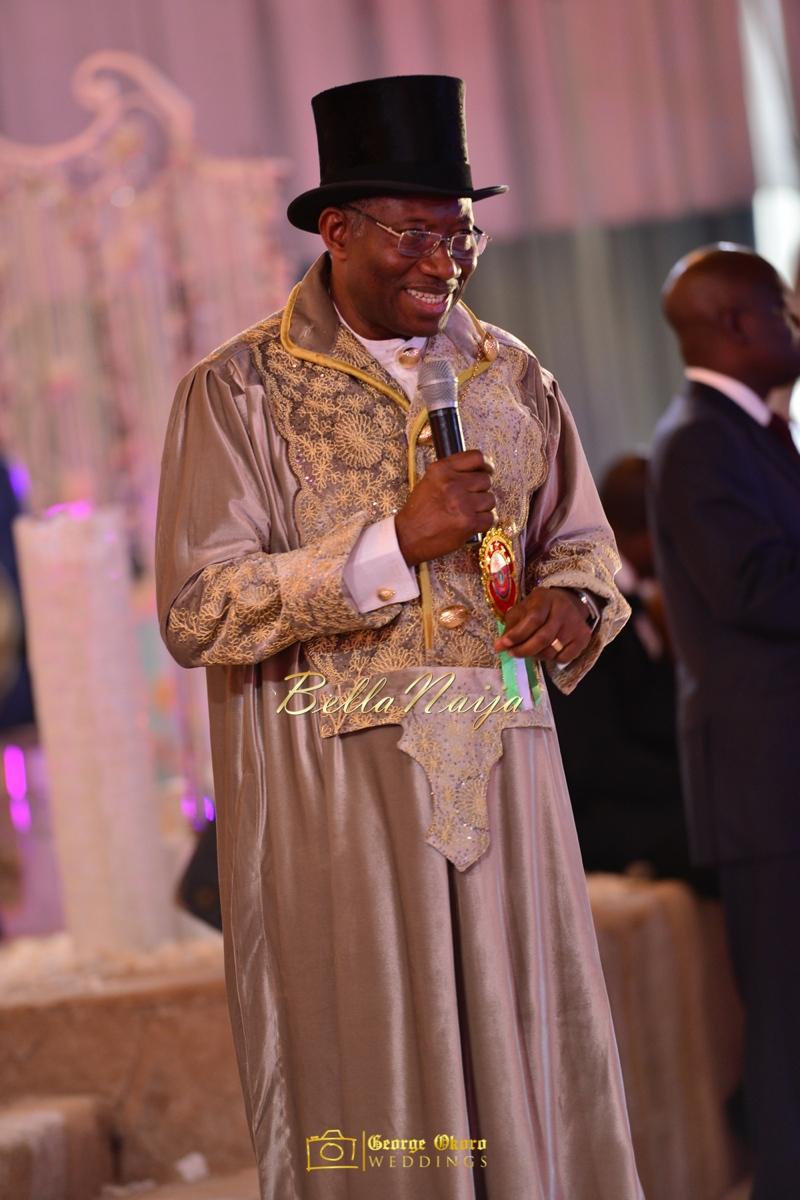 Ine & Simeon | President Jonathan Family Wedding | January 2015 | BellaNaija .George Okoro-1081