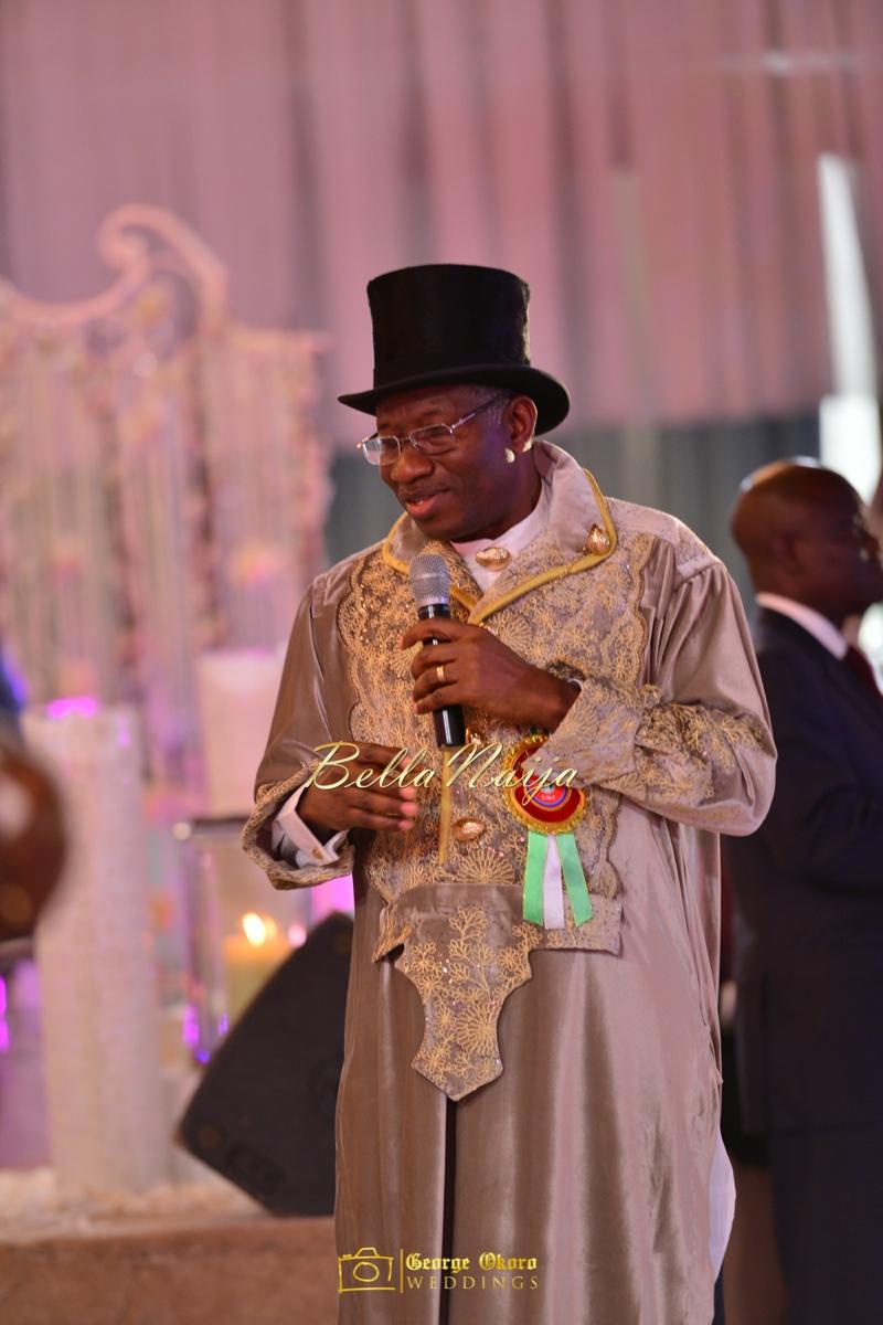 Ine & Simeon | President Jonathan Family Wedding | January 2015 | BellaNaija .George Okoro-1087