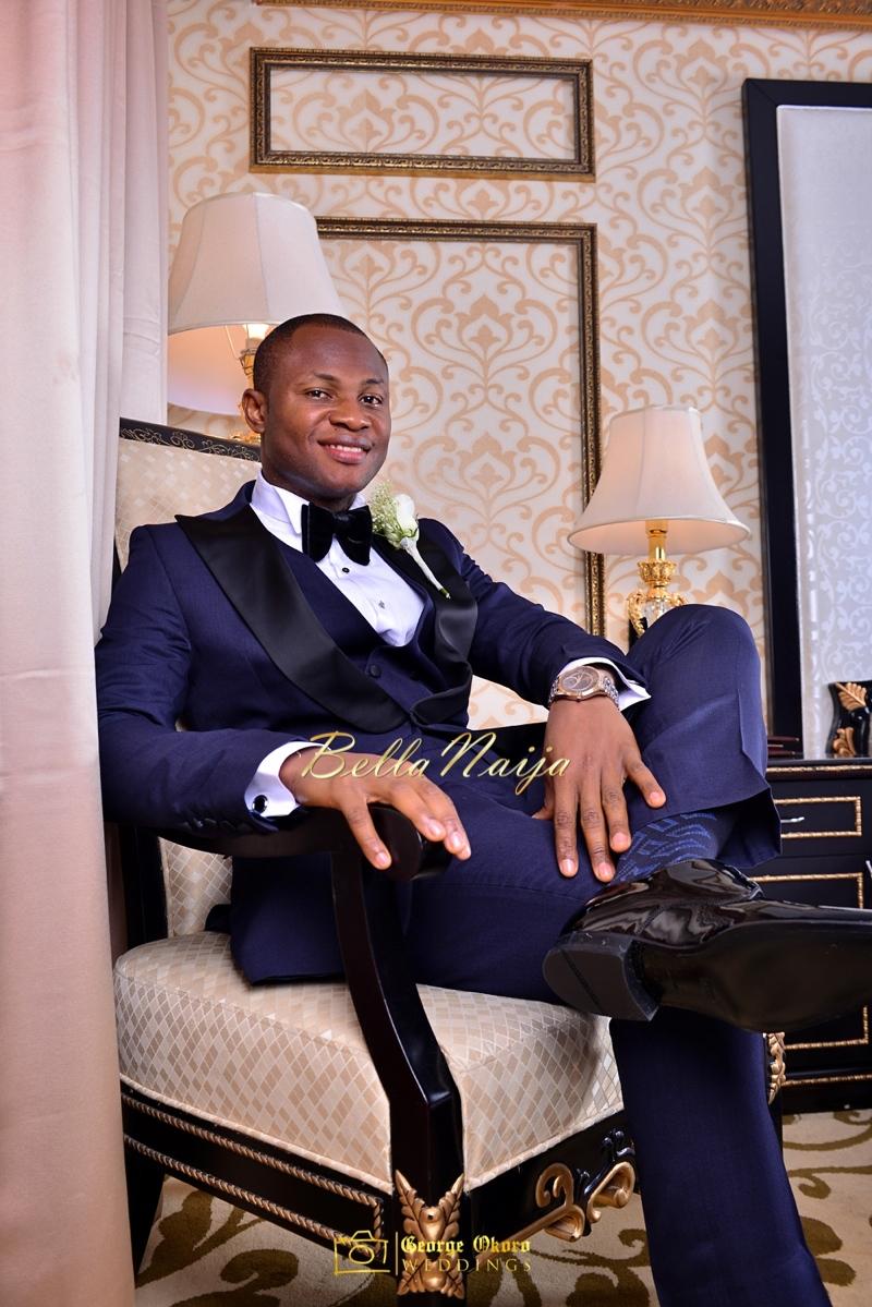 Ine & Simeon | President Jonathan Family Wedding | January 2015 | BellaNaija .George Okoro-2-2