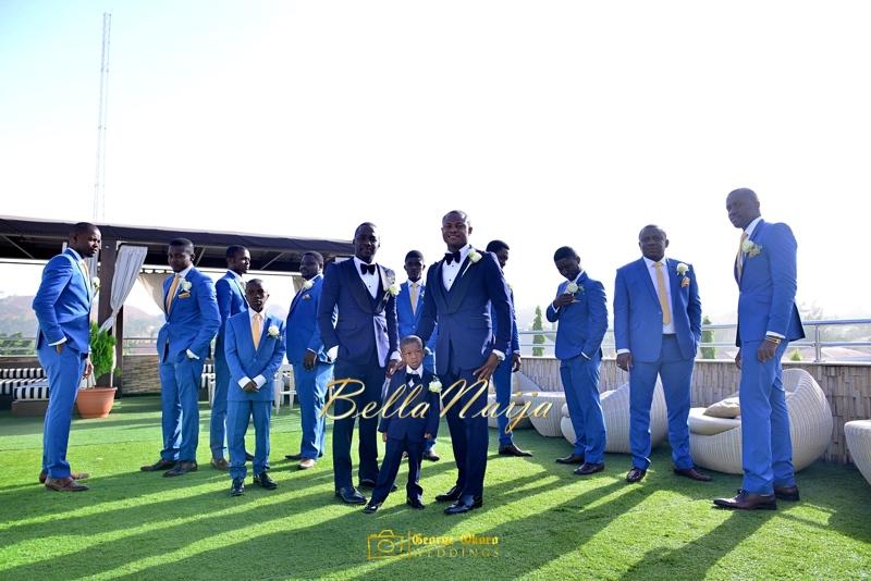 Ine & Simeon | President Jonathan Family Wedding | January 2015 | BellaNaija .George Okoro-2-8
