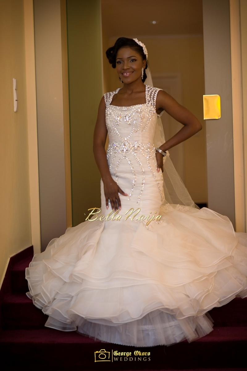 Ine & Simeon | President Jonathan Family Wedding | January 2015 | BellaNaija .George Okoro-219