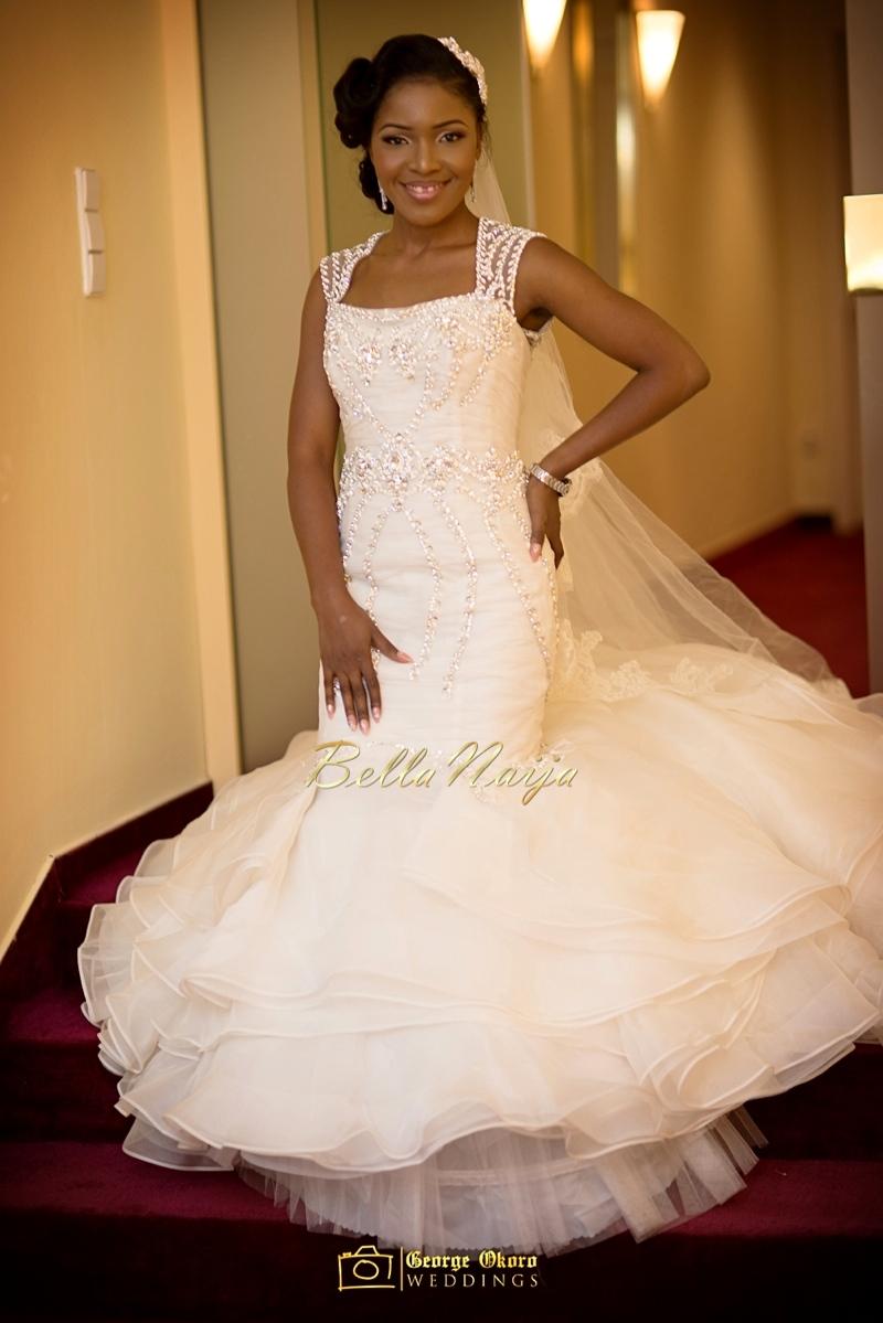 Ine & Simeon | President Jonathan Family Wedding | January 2015 | BellaNaija .George Okoro-223