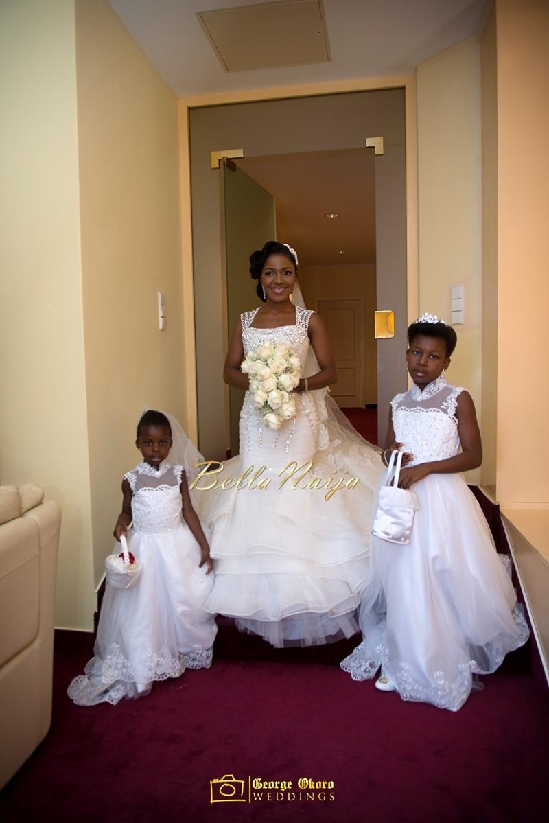Ine & Simeon | President Jonathan Family Wedding | January 2015 | BellaNaija .George Okoro-229