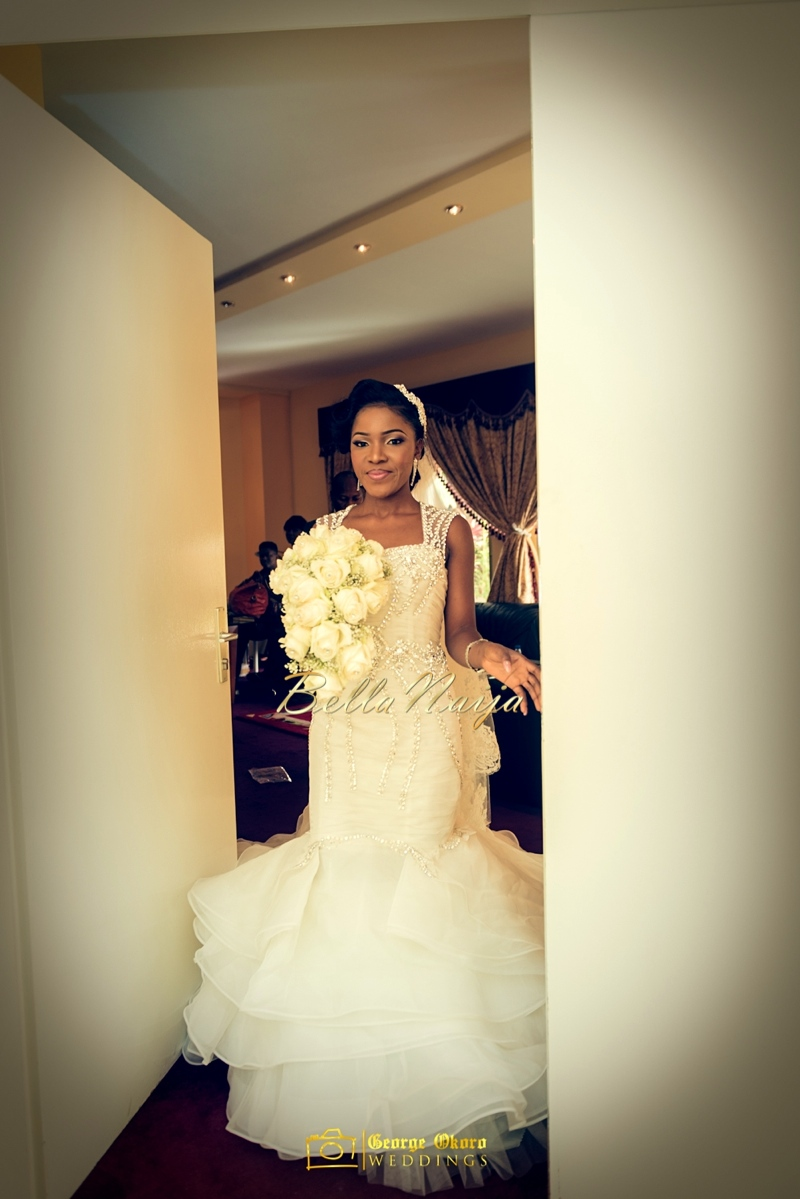 Ine & Simeon | President Jonathan Family Wedding | January 2015 | BellaNaija .George Okoro-230