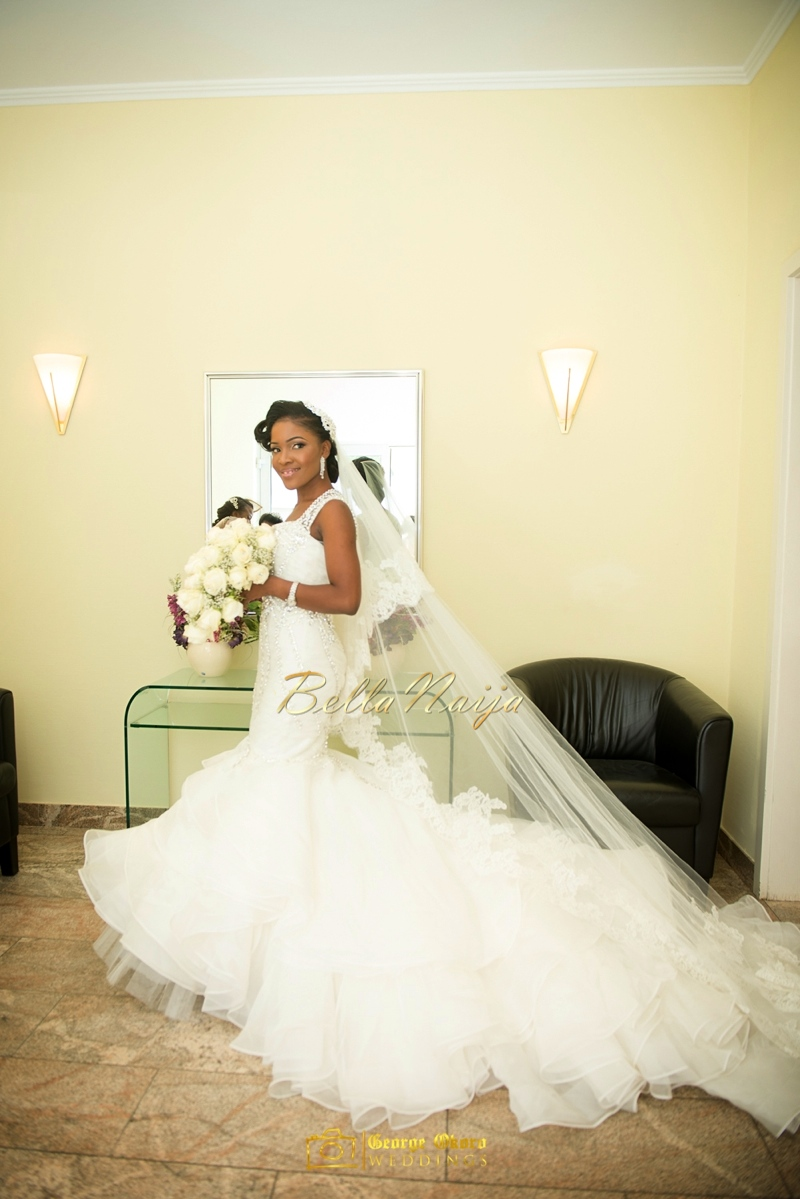 Ine & Simeon | President Jonathan Family Wedding | January 2015 | BellaNaija .George Okoro-232