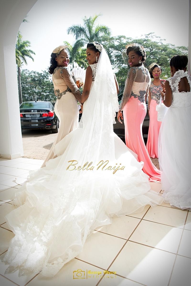 Ine & Simeon | President Jonathan Family Wedding | January 2015 | BellaNaija .George Okoro-243