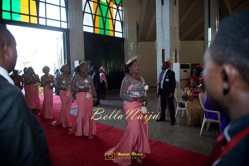 Ine & Simeon | President Jonathan Family Wedding | January 2015 | BellaNaija .George Okoro-311