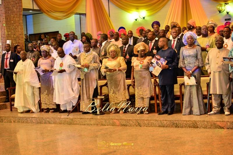 Ine & Simeon | President Jonathan Family Wedding | January 2015 | BellaNaija .George Okoro-347