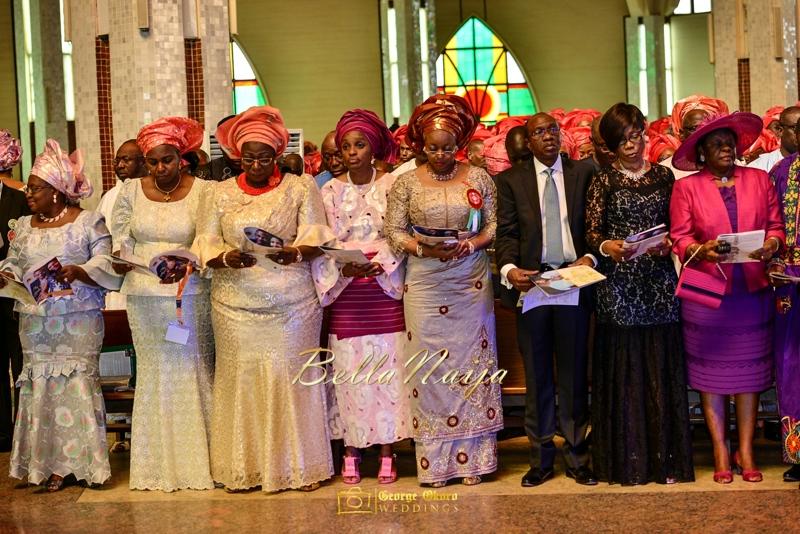 Ine & Simeon | President Jonathan Family Wedding | January 2015 | BellaNaija .George Okoro-350