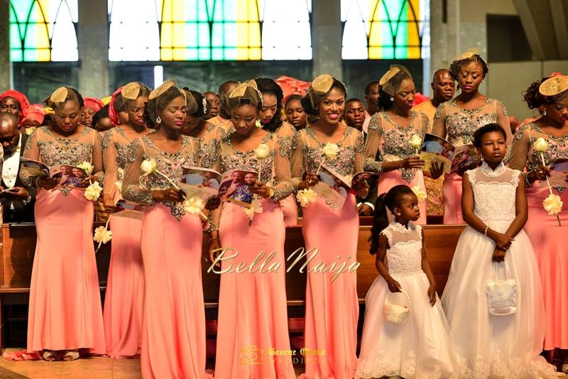 Ine & Simeon | President Jonathan Family Wedding | January 2015 | BellaNaija .George Okoro-355