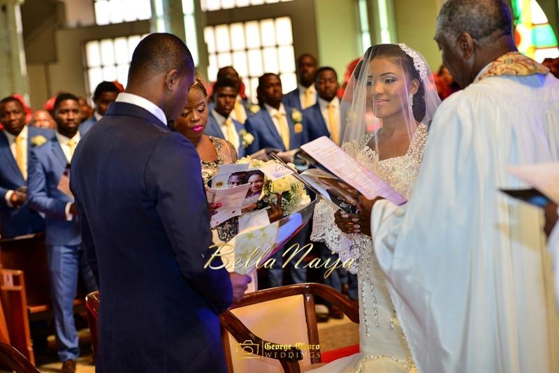 Ine & Simeon | President Jonathan Family Wedding | January 2015 | BellaNaija .George Okoro-360