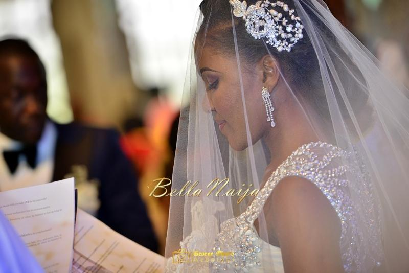 Ine & Simeon | President Jonathan Family Wedding | January 2015 | BellaNaija .George Okoro-363