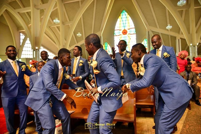 Ine & Simeon | President Jonathan Family Wedding | January 2015 | BellaNaija .George Okoro-419