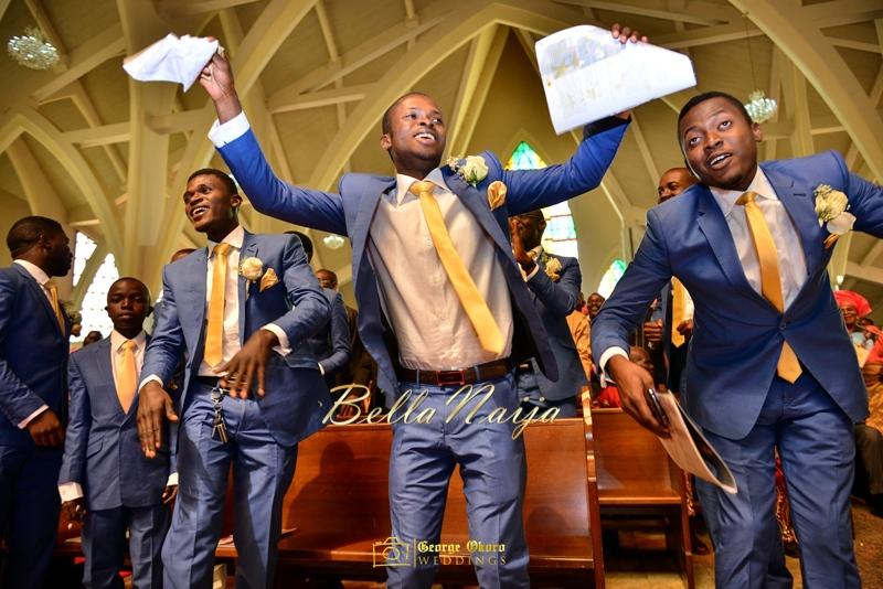 Ine & Simeon | President Jonathan Family Wedding | January 2015 | BellaNaija .George Okoro-421