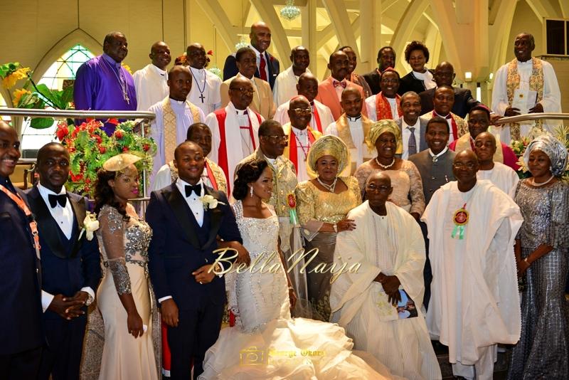 Ine & Simeon | President Jonathan Family Wedding | January 2015 | BellaNaija .George Okoro-443