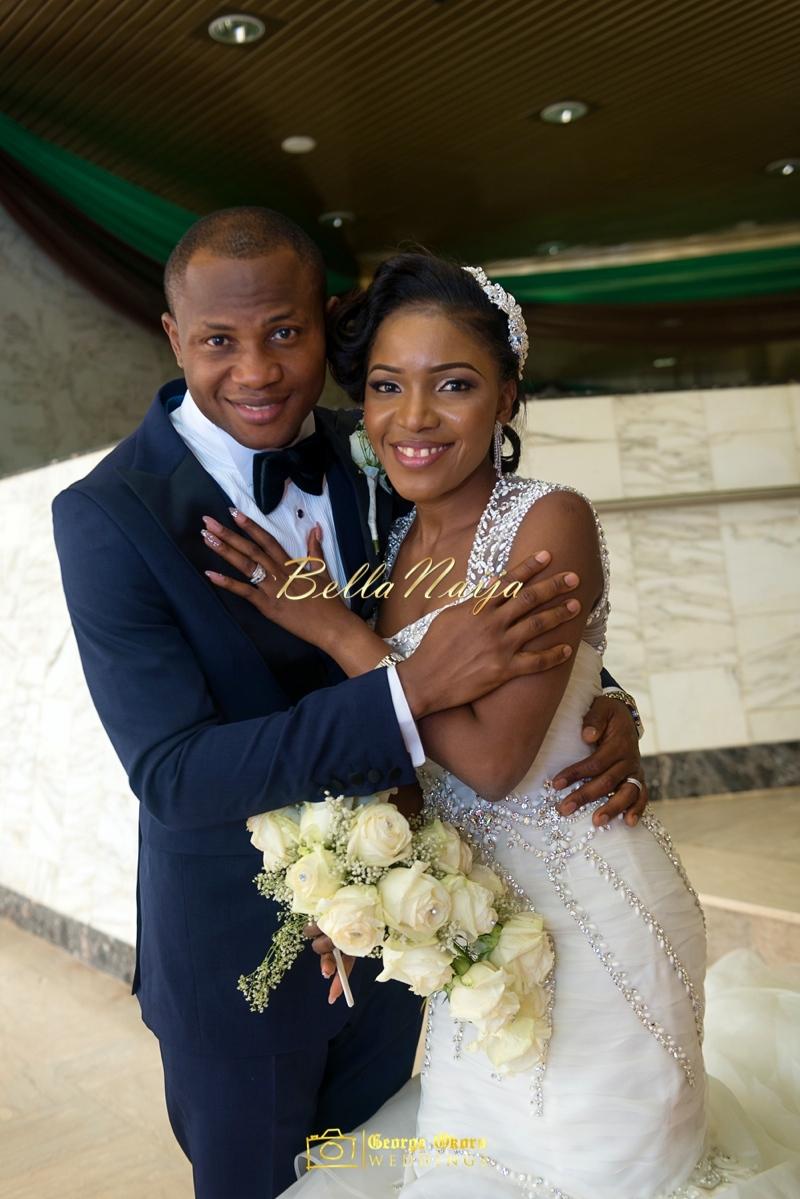 Ine & Simeon | President Jonathan Family Wedding | January 2015 | BellaNaija .George Okoro-509
