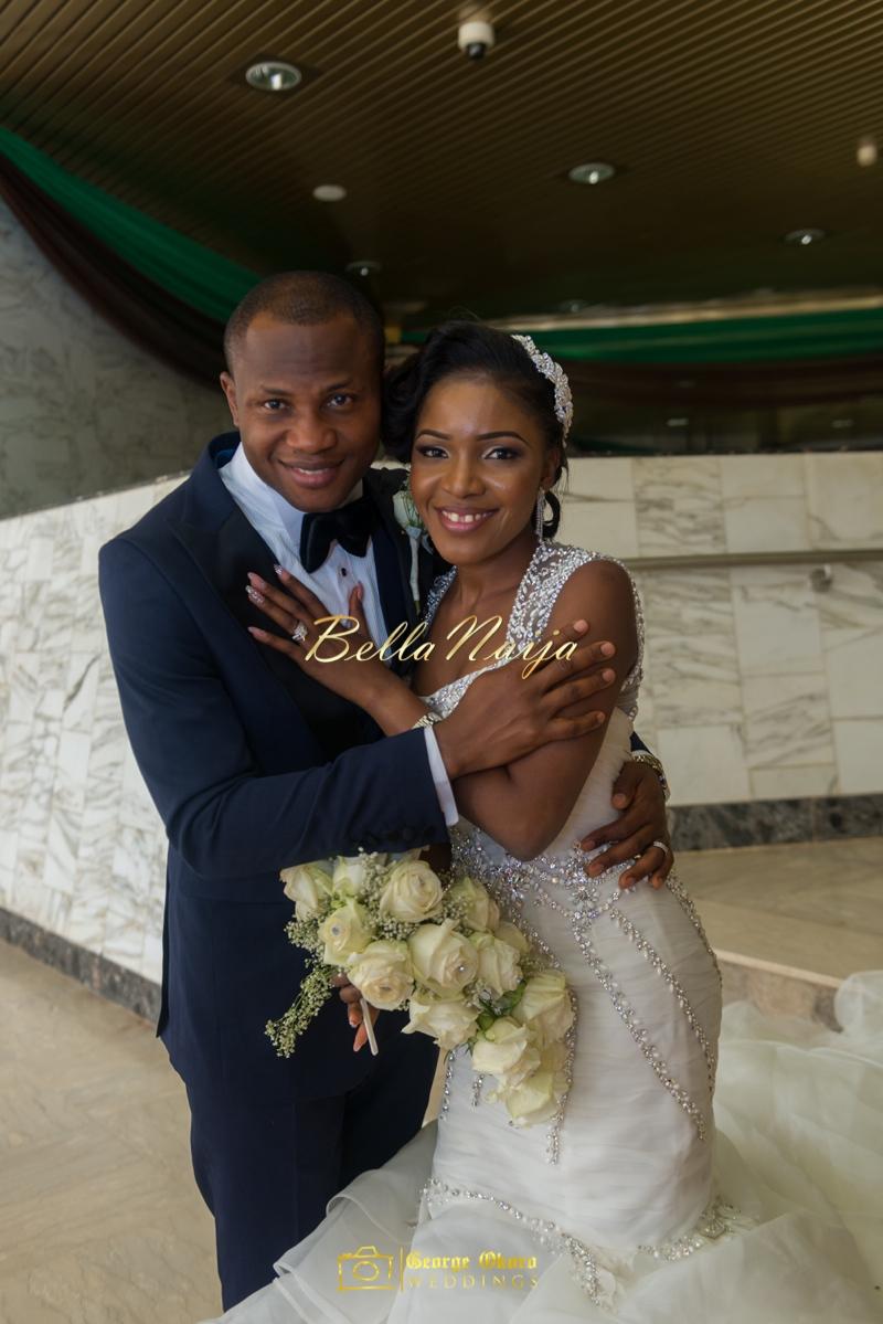 Ine & Simeon | President Jonathan Family Wedding | January 2015 | BellaNaija .George Okoro-513