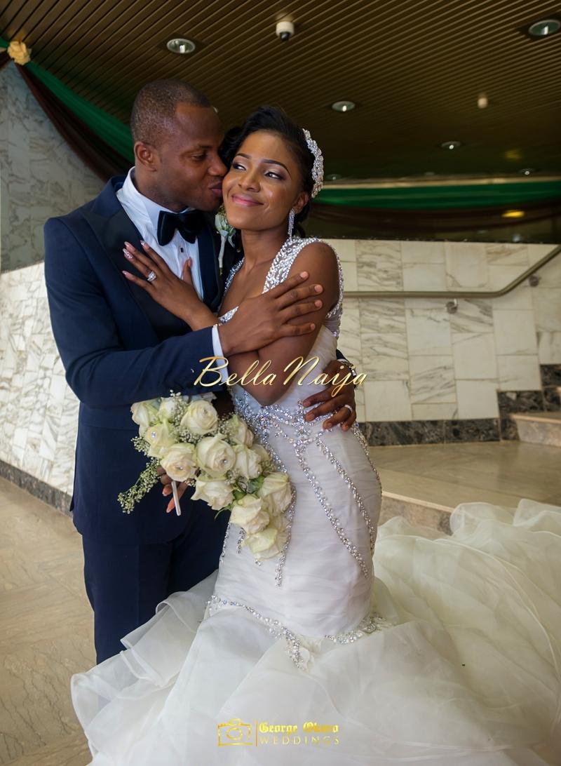 Ine & Simeon | President Jonathan Family Wedding | January 2015 | BellaNaija .George Okoro-517
