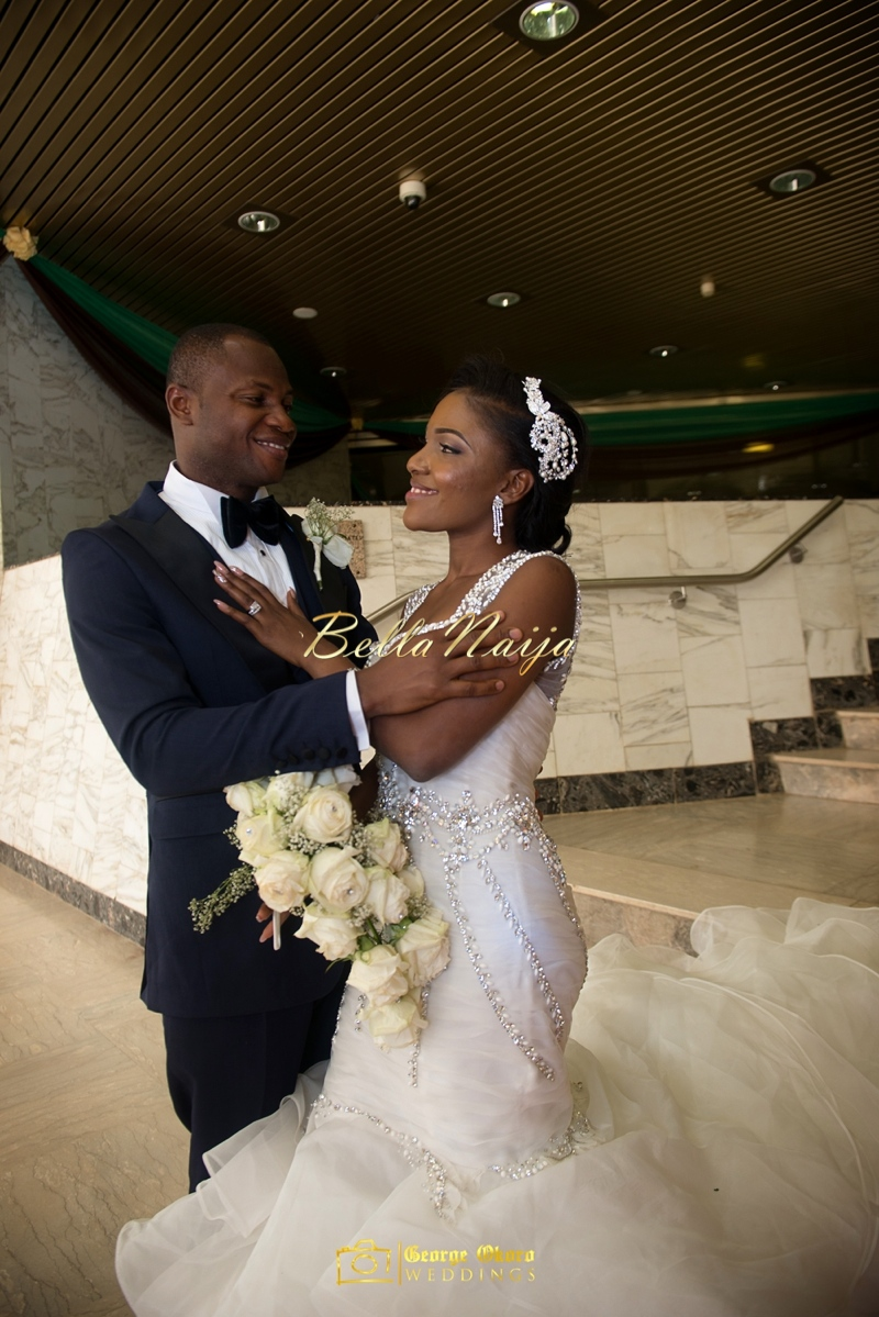 Ine & Simeon | President Jonathan Family Wedding | January 2015 | BellaNaija .George Okoro-521