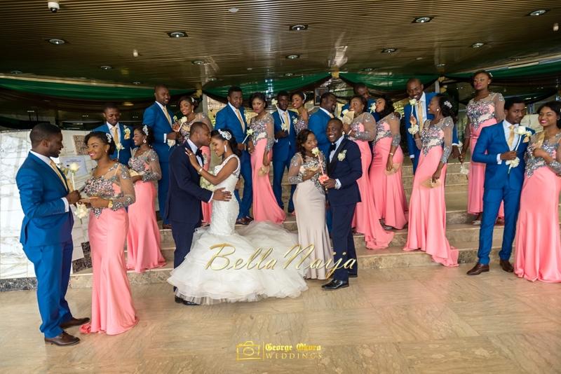 Ine & Simeon | President Jonathan Family Wedding | January 2015 | BellaNaija .George Okoro-557
