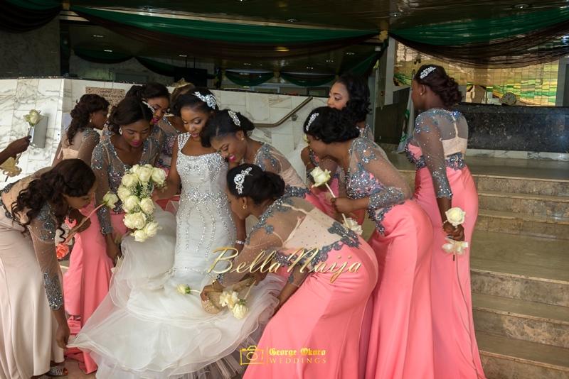 Ine & Simeon | President Jonathan Family Wedding | January 2015 | BellaNaija .George Okoro-571