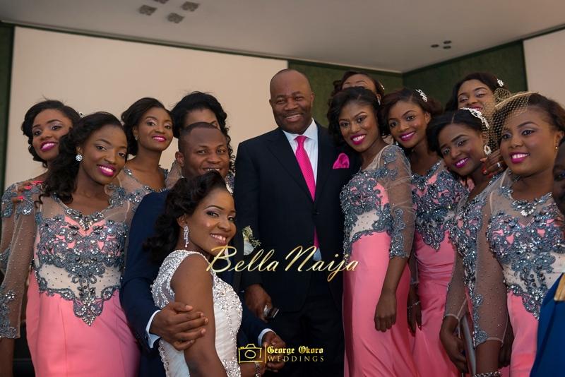 Ine & Simeon | President Jonathan Family Wedding | January 2015 | BellaNaija .George Okoro-614