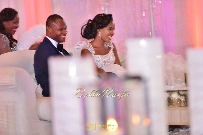 Ine & Simeon | President Jonathan Family Wedding | January 2015 | BellaNaija .George Okoro-718