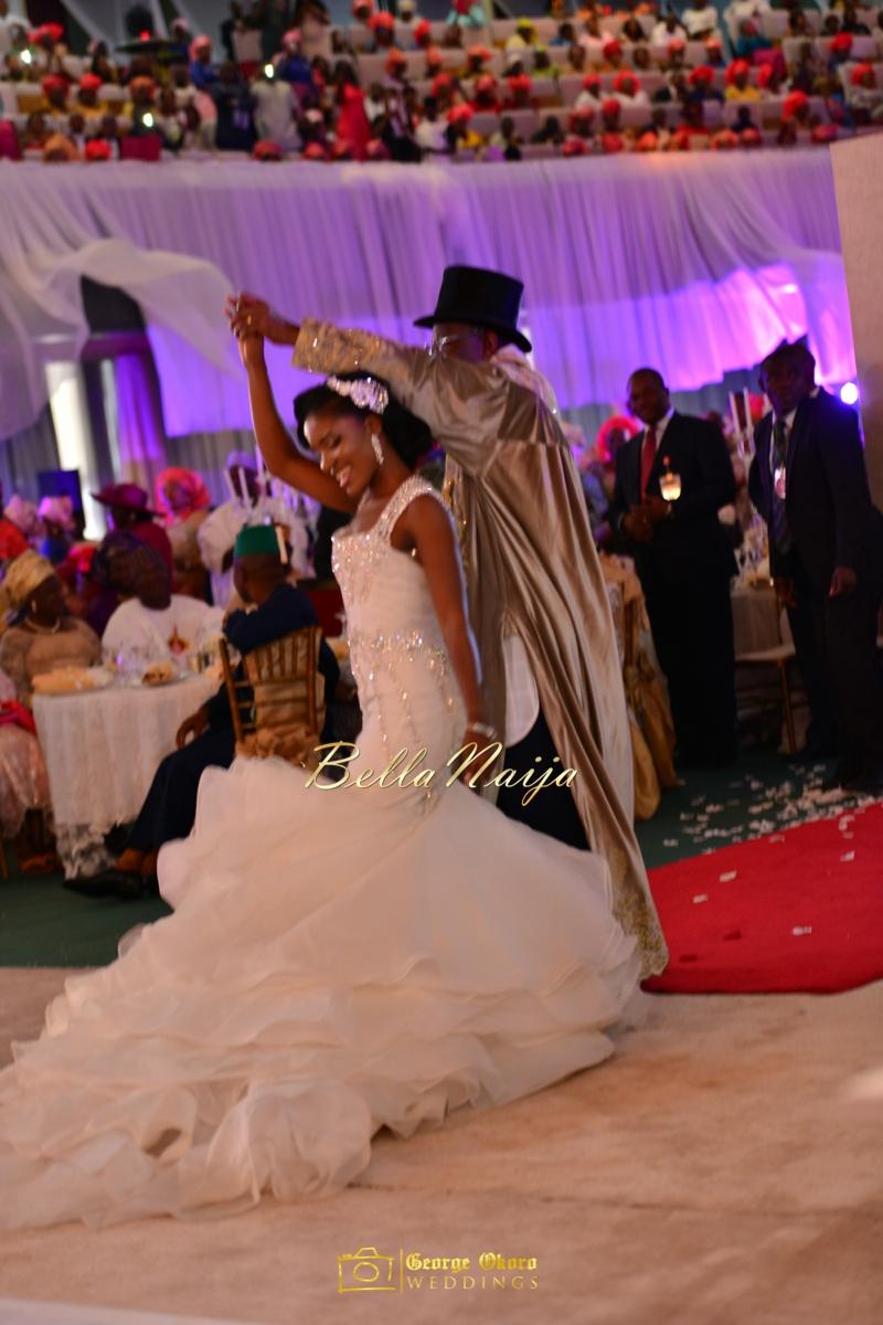 Ine & Simeon | President Jonathan Family Wedding | January 2015 | BellaNaija .George Okoro-809