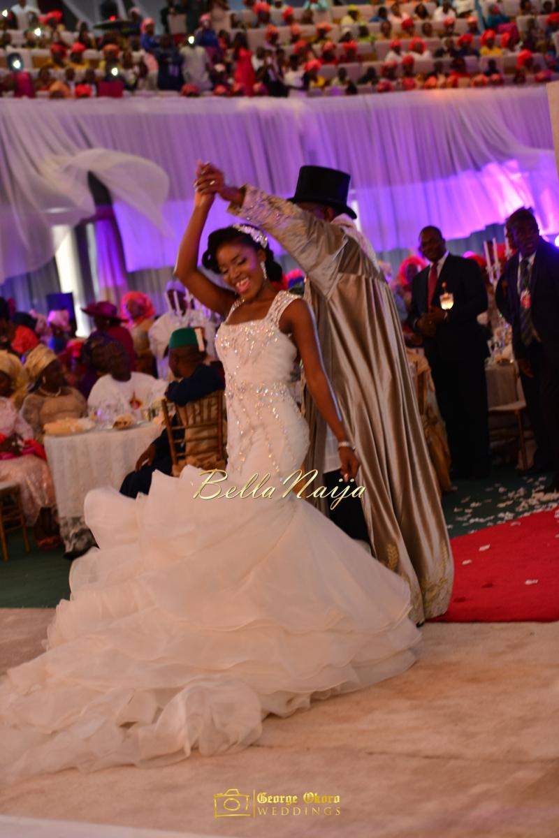 Ine & Simeon | President Jonathan Family Wedding | January 2015 | BellaNaija .George Okoro-810