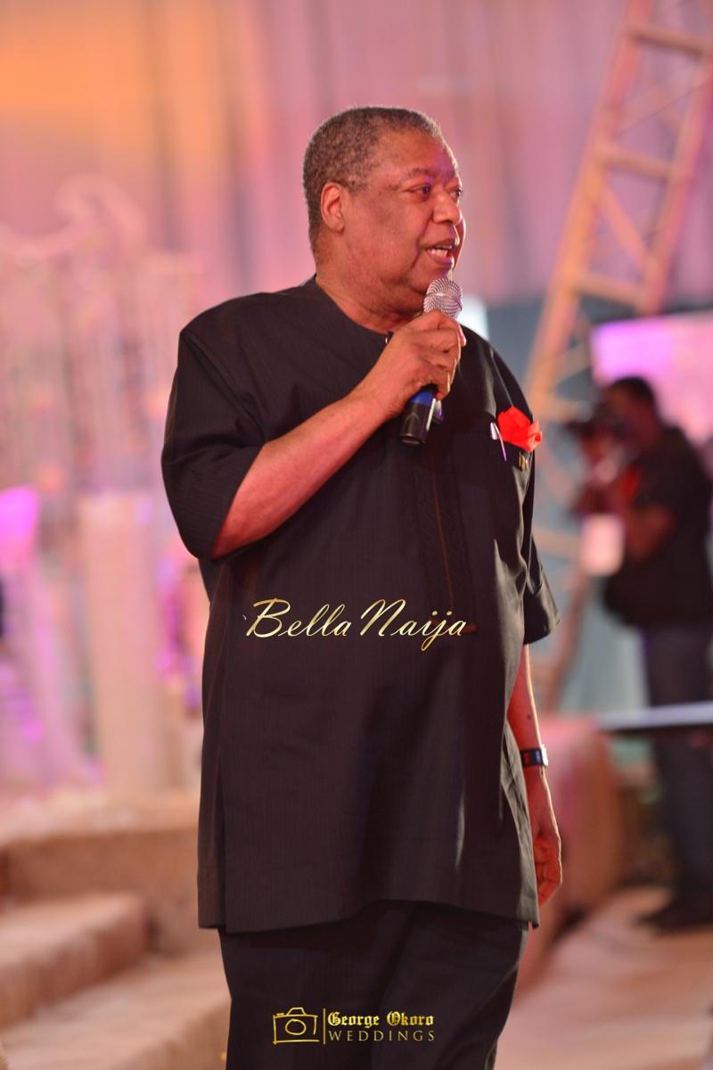 Ine & Simeon | President Jonathan Family Wedding | January 2015 | BellaNaija .George Okoro-840