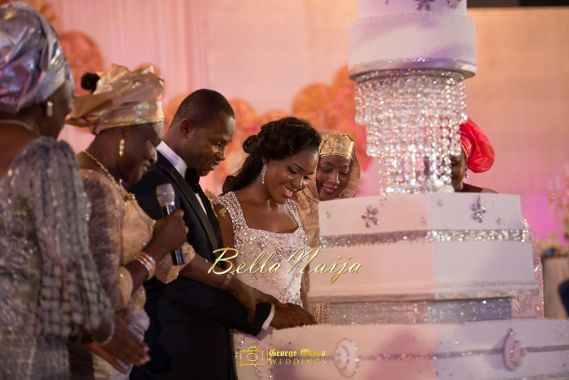 Ine & Simeon | President Jonathan Family Wedding | January 2015 | BellaNaija .George Okoro-926