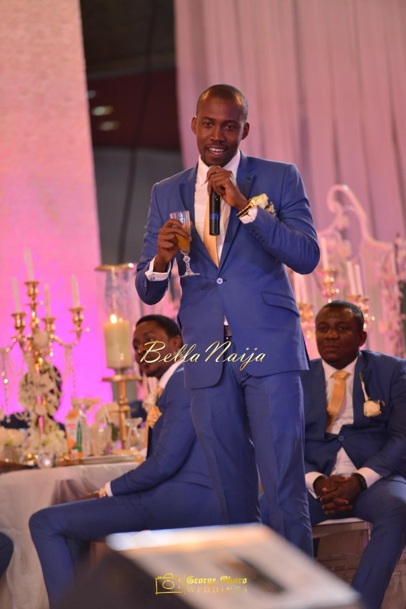 Ine & Simeon | President Jonathan Family Wedding | January 2015 | BellaNaija .George Okoro-983