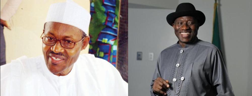 Jonathan et Buhari
