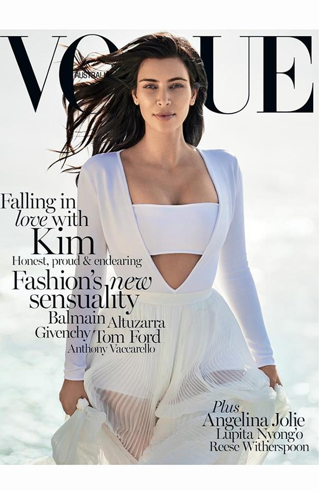 Kim kardashian has had so many magazine covers but being on the cover