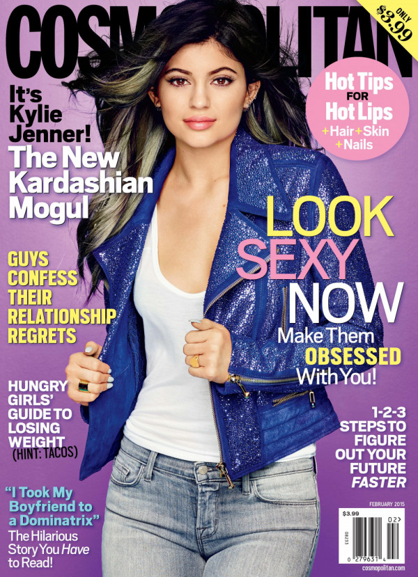 Kylie Jenner for Cosmopolitan - BellaNaija - January 2015