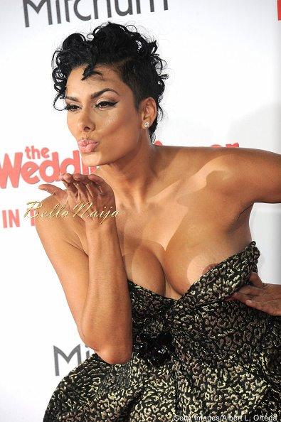 Former Basketball Wives LA Star Laura Govan Suffers Wardrobe Malfunction During The Wedding