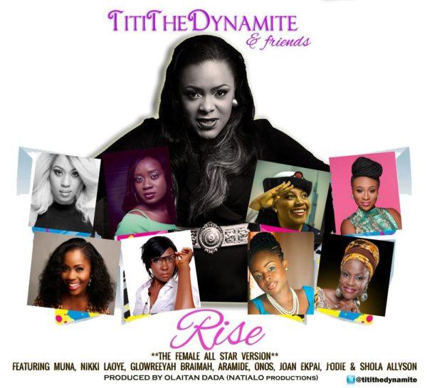 NU TitiTheDynamite & Friends RISE2 FLYER2