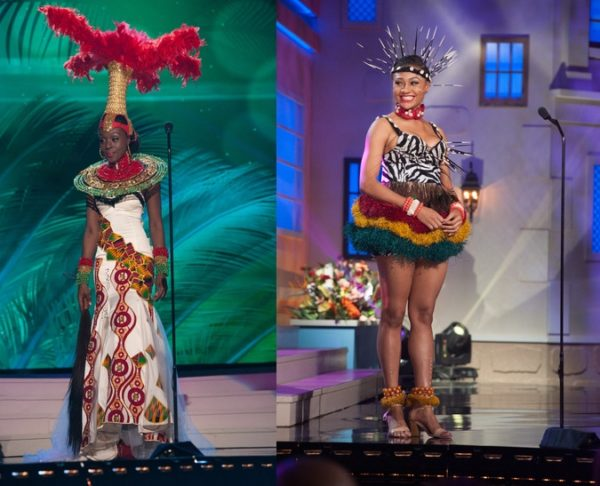 Finale Miss Univers 2018 >> Miss Universe 2014: Which African Queen Rocked the Best National Costume? You Tell Us! - BellaNaija
