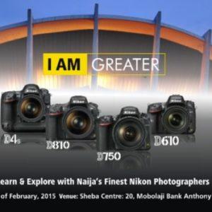 Nikon I Am Greater Campaign - BellaNaija - January2015