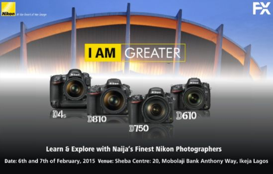 Nikon I Am Greater Campaign - BellaNaija - January2015