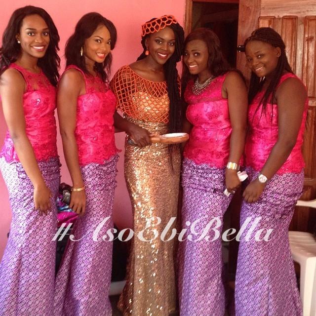Nkechi and her girls @itweetnaija