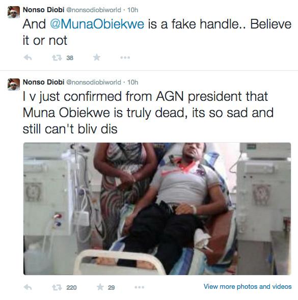 Nonso Diobi Confirms Muna Obiekwe's Death 1