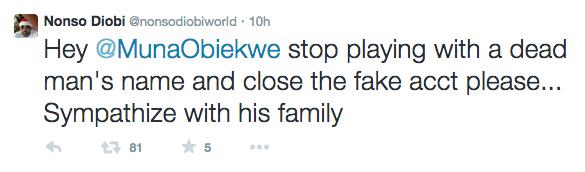 Nonso Diobi Confirms Muna Obiekwe's Death 2