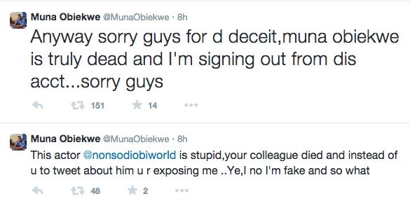 Nonso Diobi Confirms Muna Obiekwe's Death 5