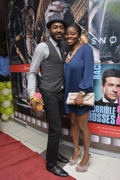 O. C. Ukeje and wife