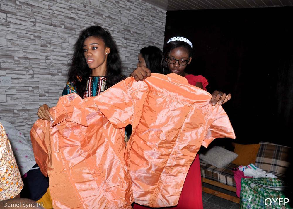 Giving Back Omotola Jalade Ekeinde Amp Husband Host Widows